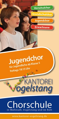 Flyer Jugendchor